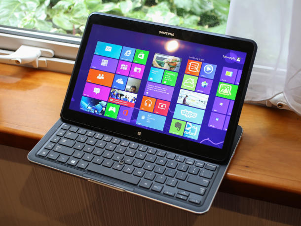 Don't let this shot fool you. The Samsung ATIV Q is also a tablet.