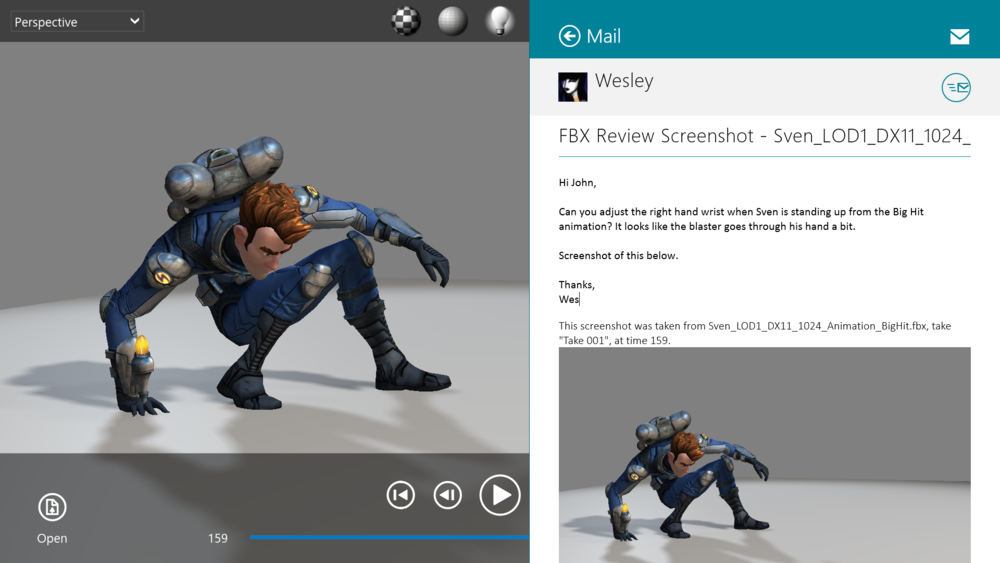 Autodesk releases free FBX Review — Surface Pro Artist