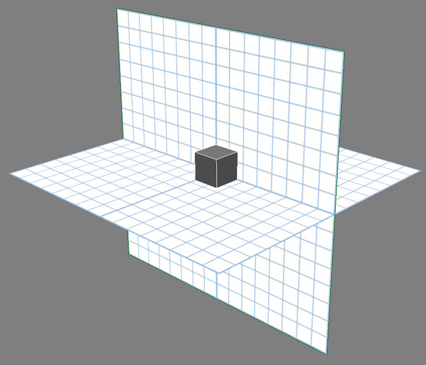 Visualizing the 3d workplane
