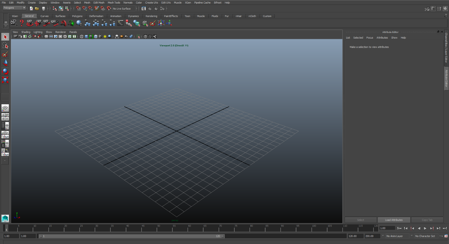 The problem with running Maya on the Surface Pro or any screen under 17-inches is that its default UI is extremely cluttered. The top of the standard interface includes six rows of menus, icons, and shelves.