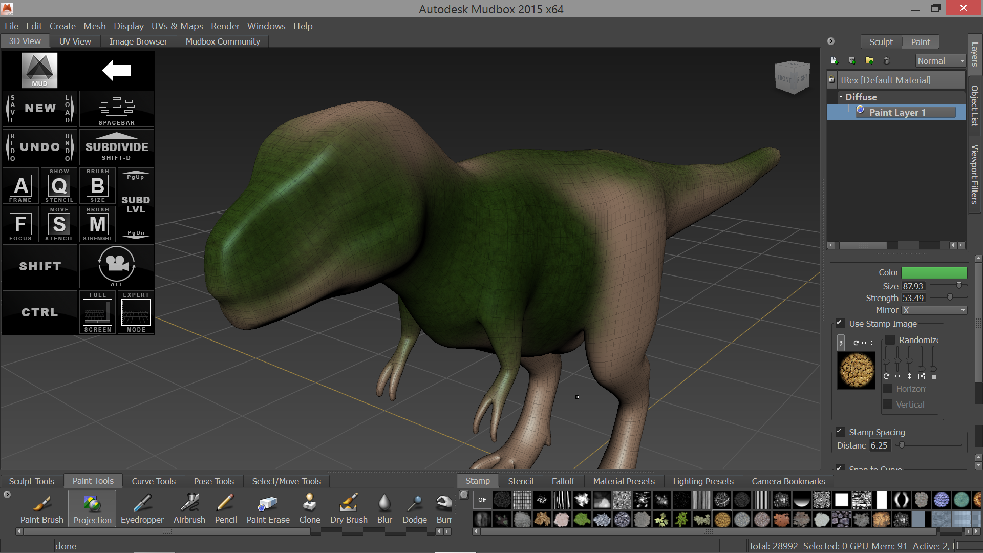 Mudbox 2015 and the upcoming ArtDock update.