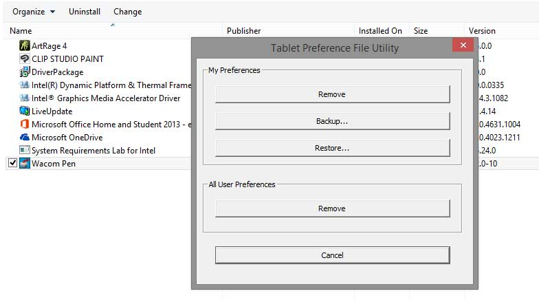 Perform 81-point calibration without ruining your Wacom