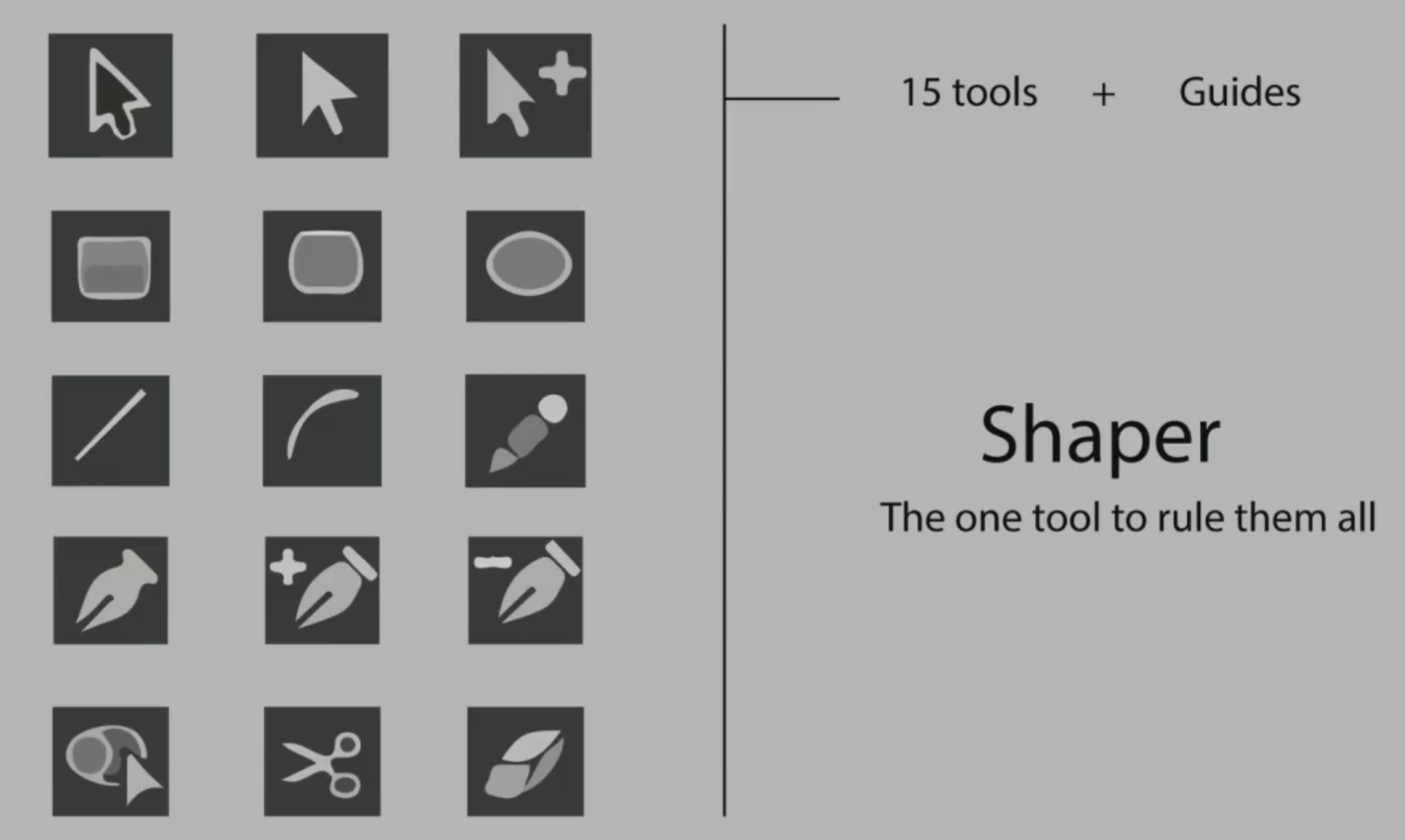 The goal of the Shaper developers is to replace up to 15 traditional tools and guides with one highly interactive tool.