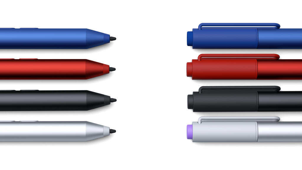 The new Surface pens are available for pre-order now in the MIcrosoft Store for $49.99.