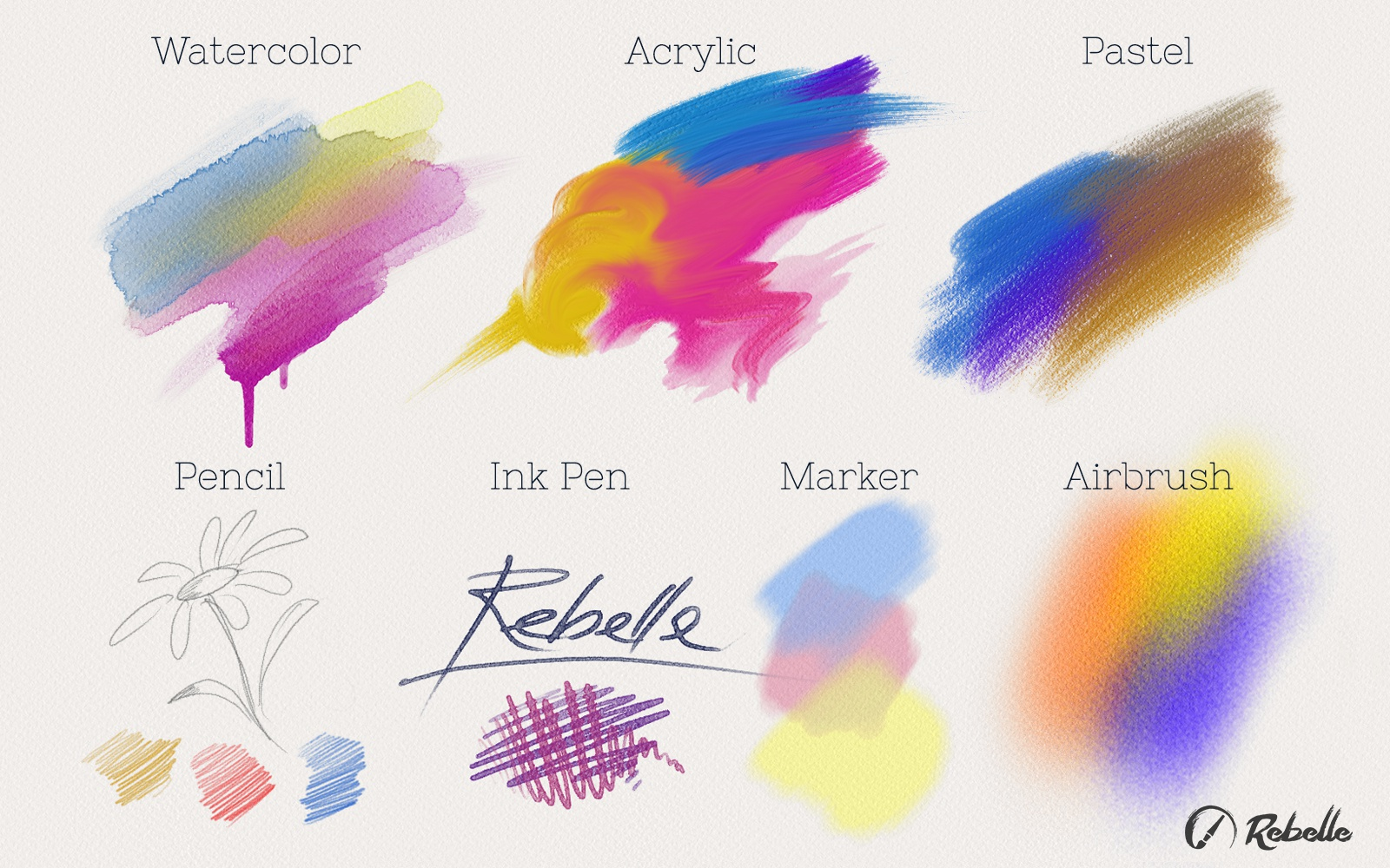 Escape Motions releases Rebelle, new watercolor & acrylic