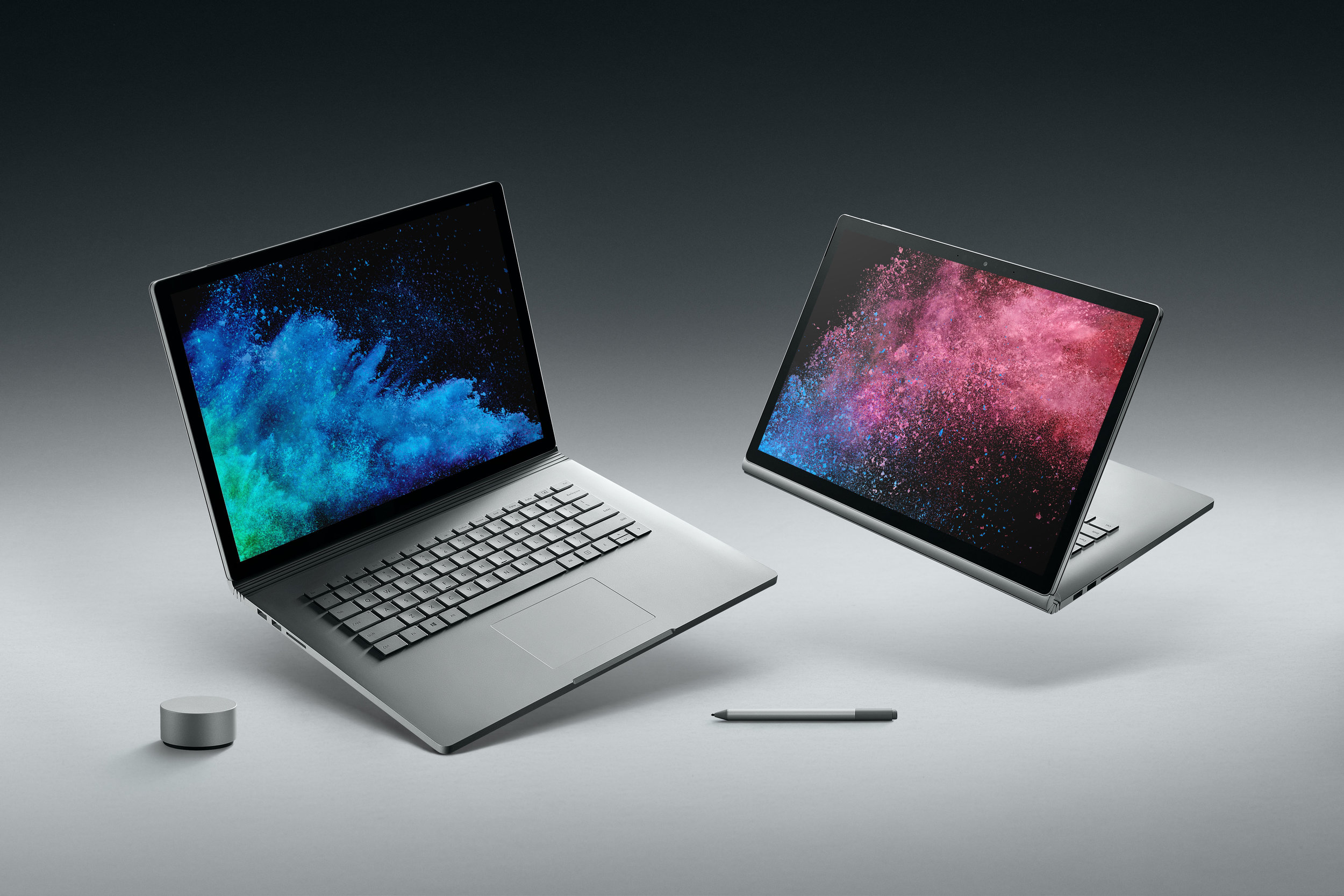 The exterior design hasn't changed, but the internals of the new Surface Book 2 are getting a major upgrade.