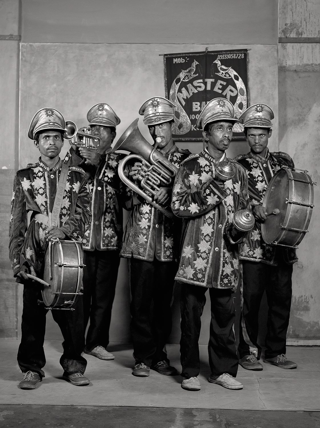 MASTER BAND-PARTY BOYS, $6 ON ASSIGNMENT, 2011
