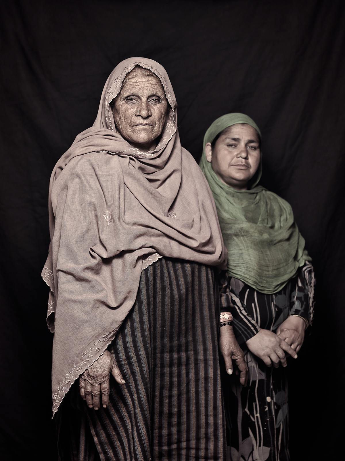 Teja Bibi, 63 and Naseema Begum, 42, D-camp, 2013