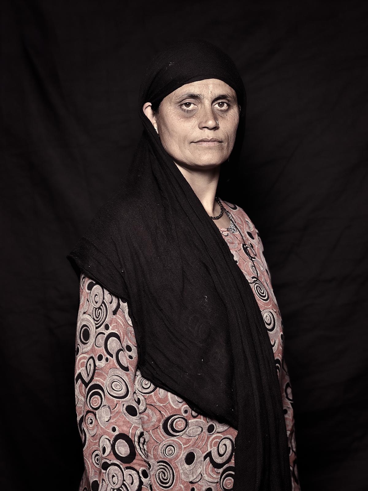 Hafeeza Begum, 45, D-camp, 2013