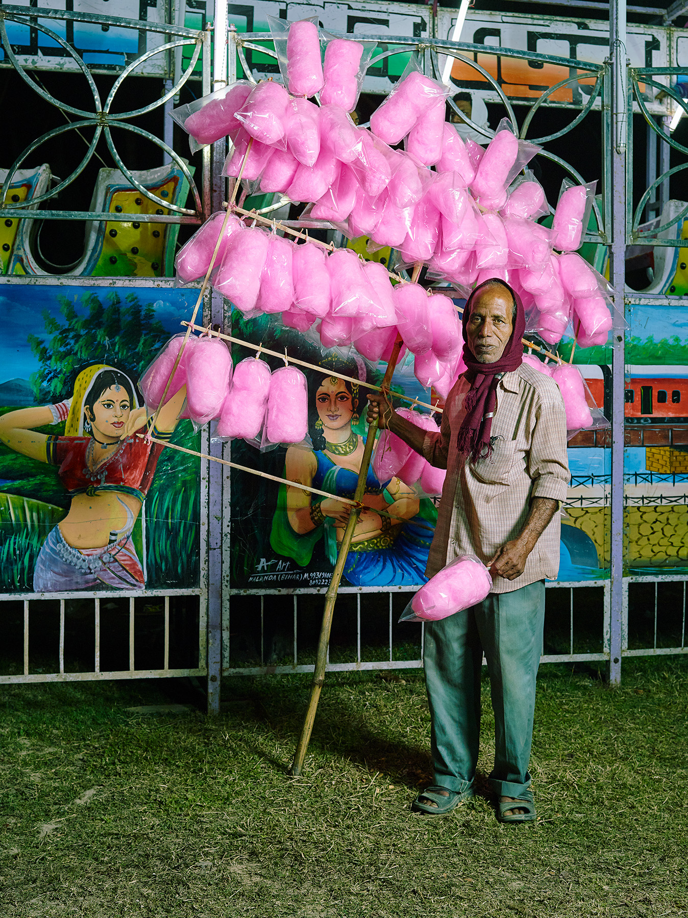 COTTON-CANDY SELLER, $16 WEEKLY, 2015