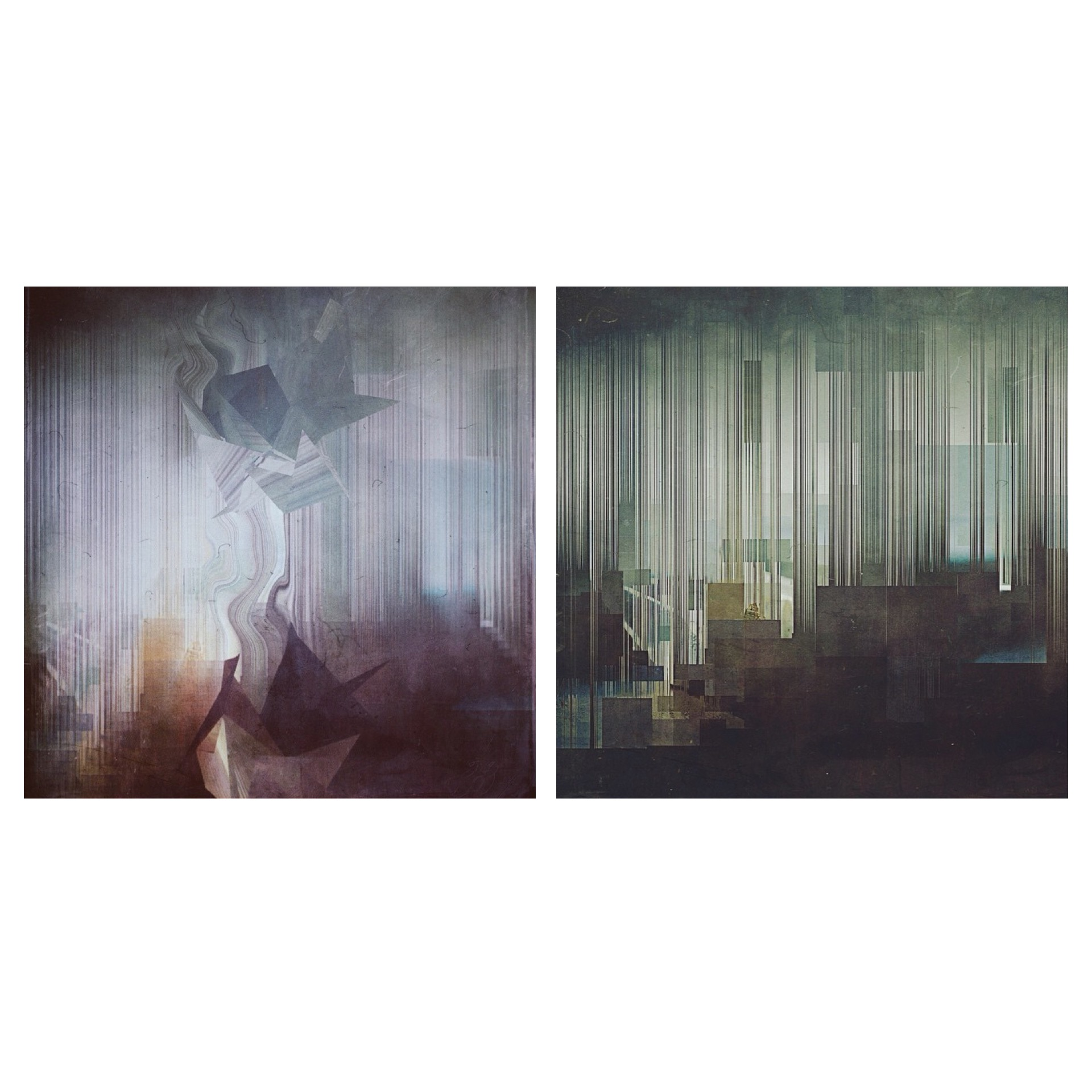 Untitled #223 Diptych