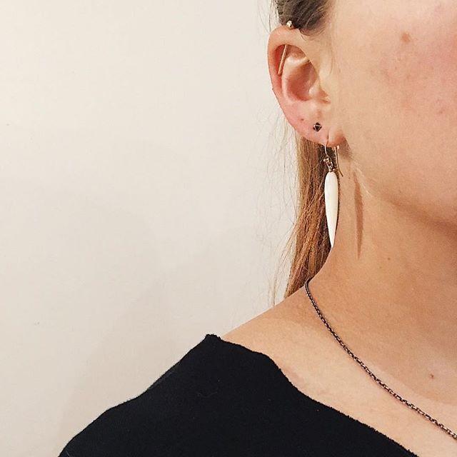 Thank you @susancampbelljewelry  Beautiful shot of my Mother of Pearl earrings. #magallyjewelry #gems #earrings #handmadejewelry #instajewelry #designerjewelry #limitededition #love #shop #style