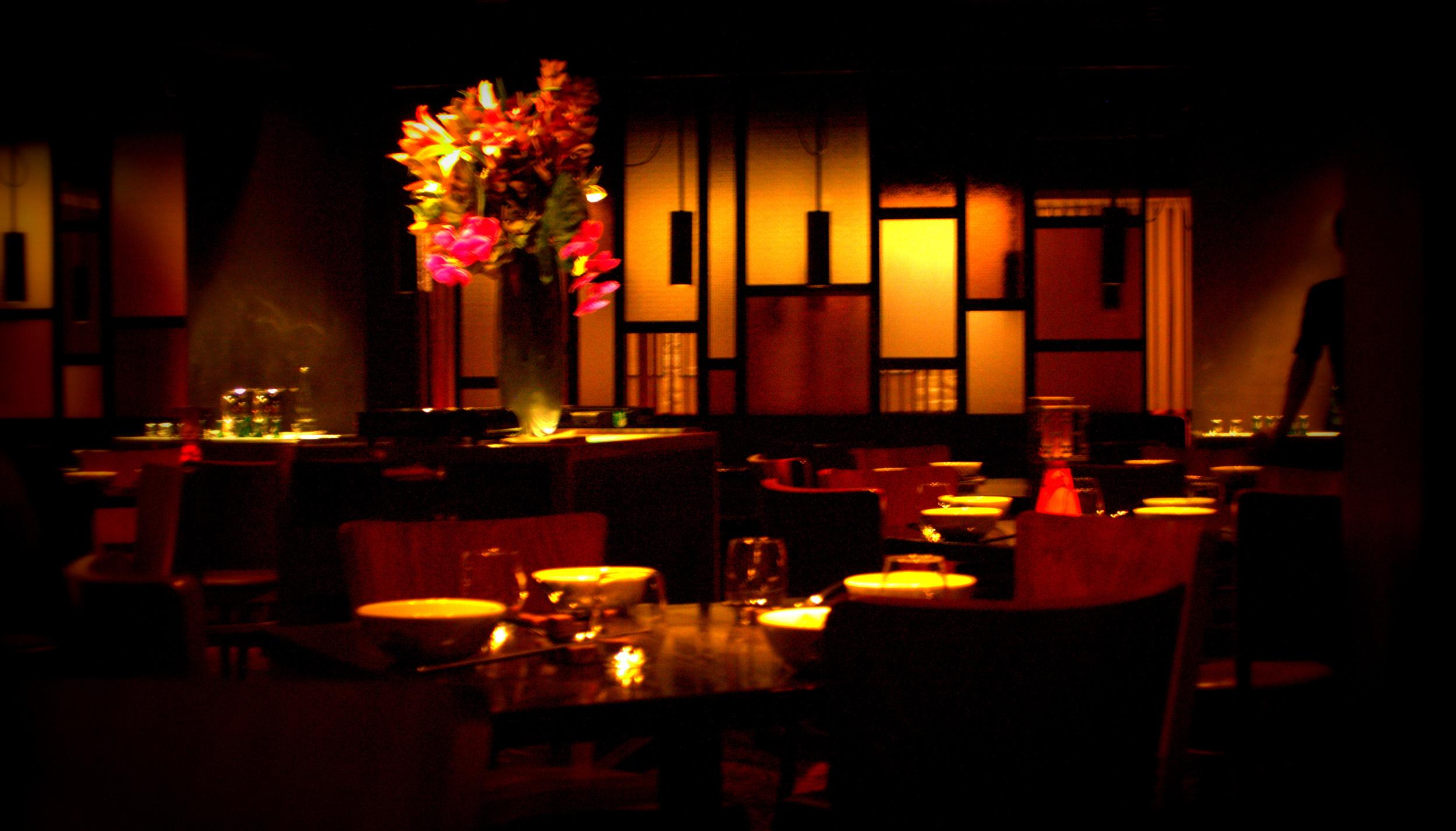 Dark lit Restaurant (2013)