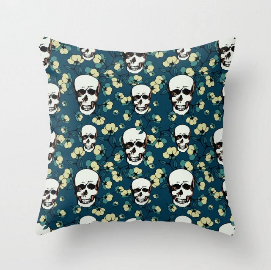 Happiness Throw Pillow by SickSweet   Society6.png