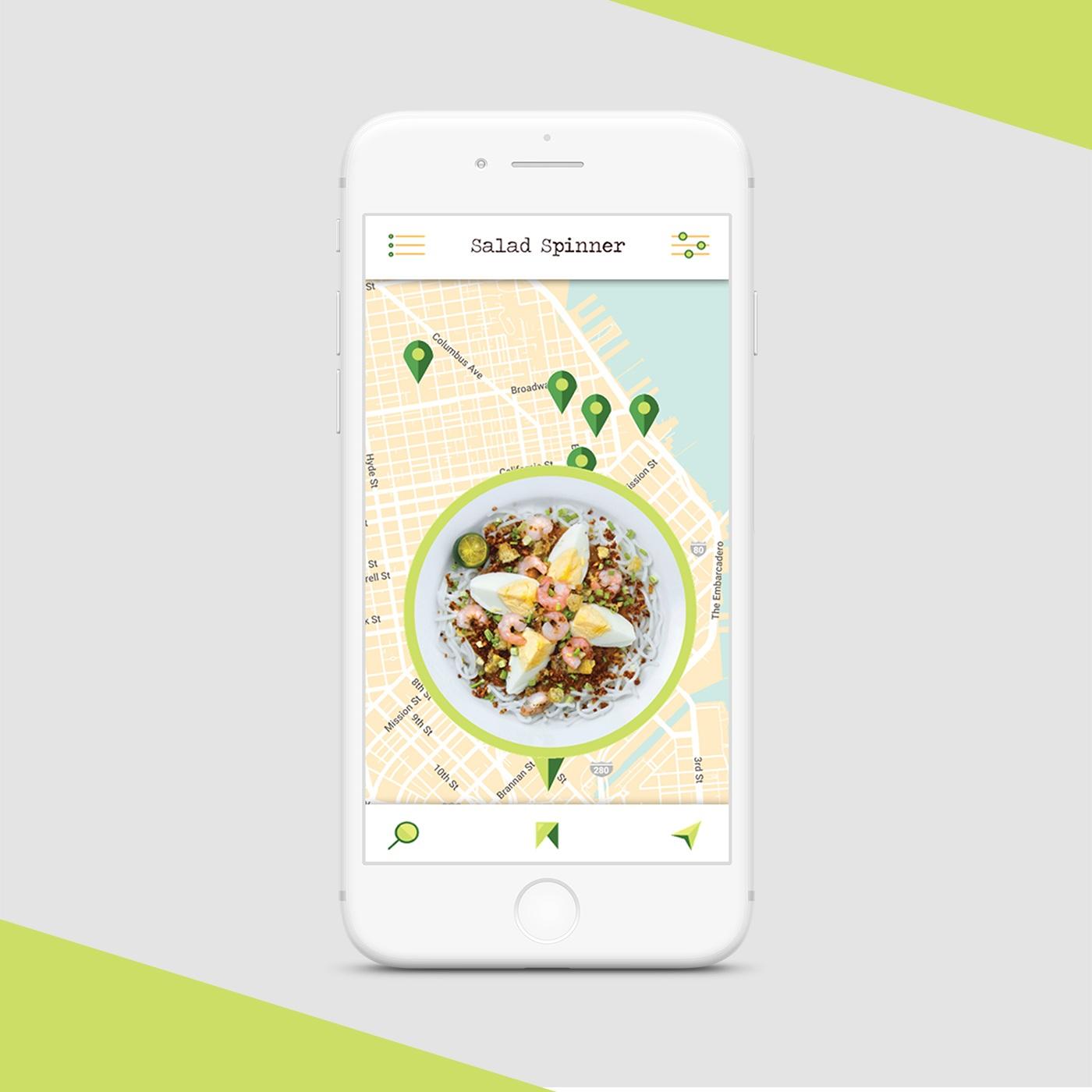 UI Design | Salad Spinner