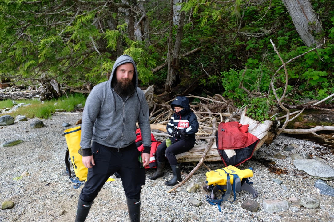 Kyle Schang - MES CandidateKyle is looking at the legacies of forest diversity and regeneration trajectories on habitation sites on the Central Coast of British Columbia