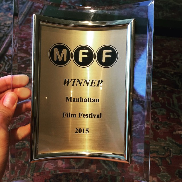 Summit ended up winning Best Horror at the festival!