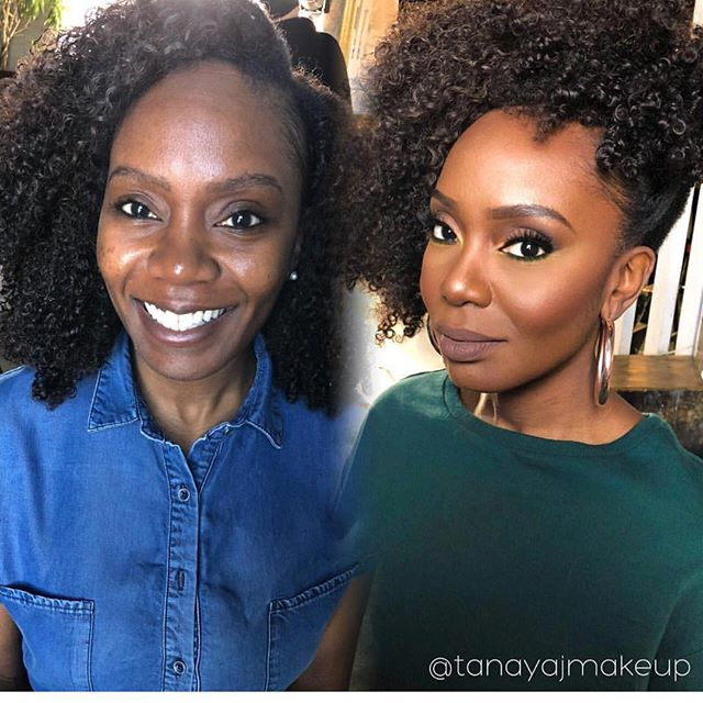 A gorgeous #glowup with @naydiva #thatmakeuplife #enhanced
