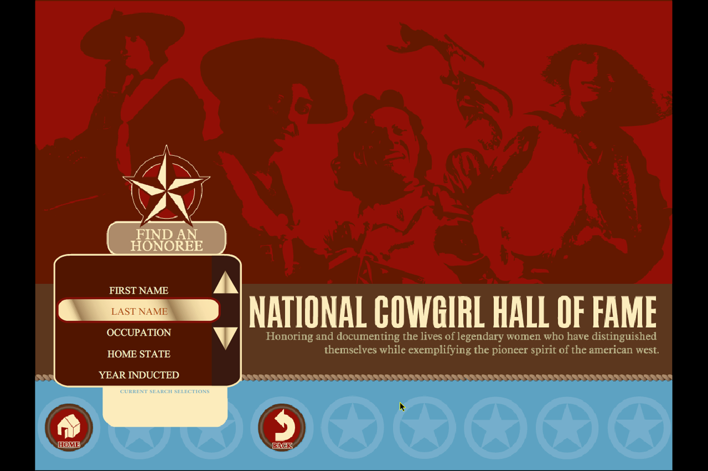 Exhibit Database National Cowgirl Hall of Fame