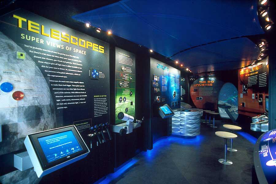 moveable museum telescope