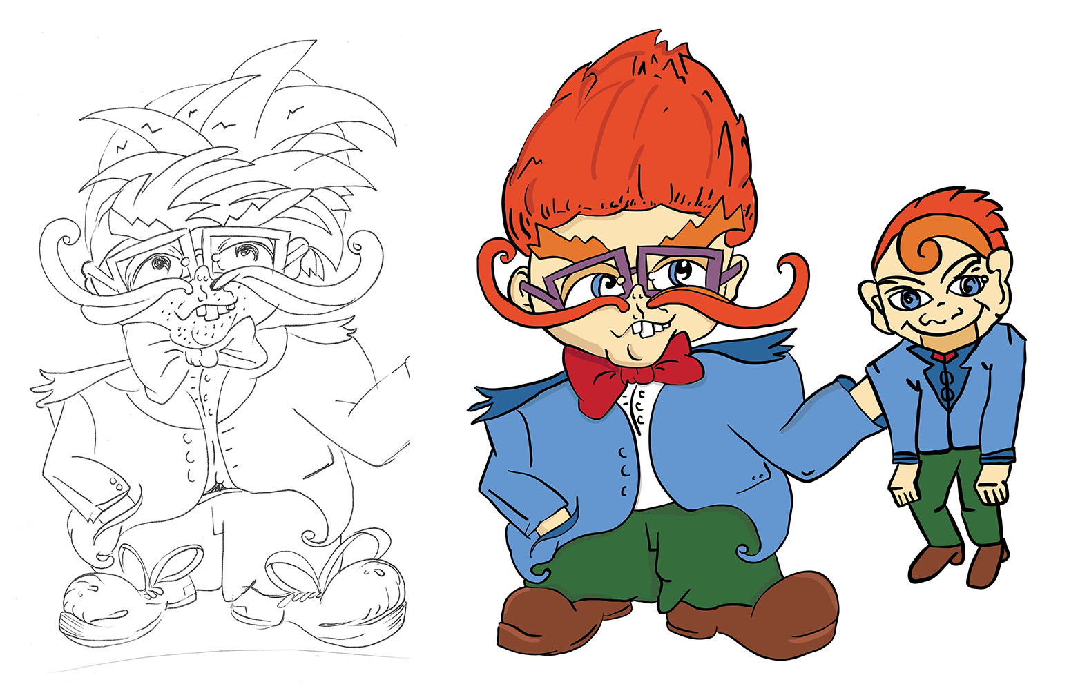 CHUCKIE THE VENTRILOQUIST {click to enlarge}