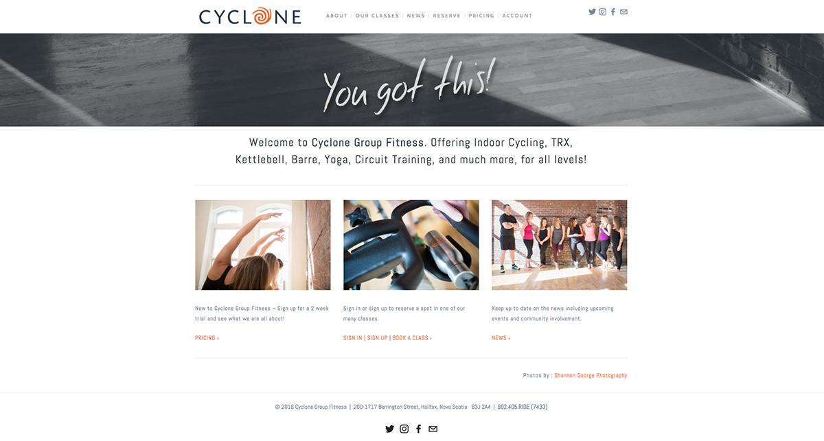 Cyclone Group Fitness