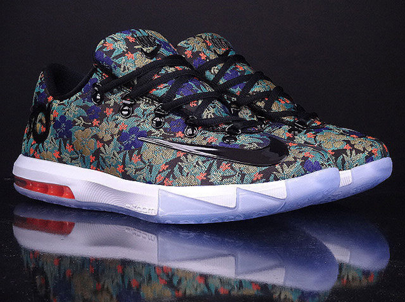 watch 1b4f4 94605 Nike KD VI EXT QS Floral Release Info —NEWS- theEVRYDYWKND