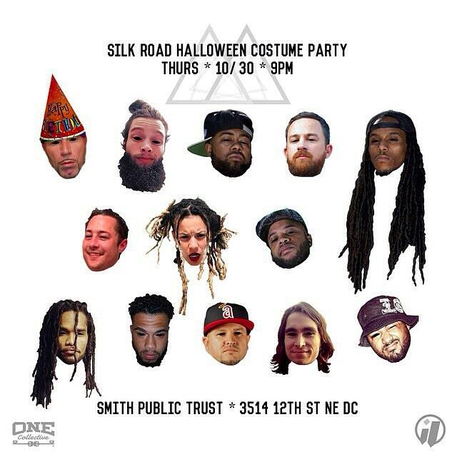 Silk Road Halloween Party