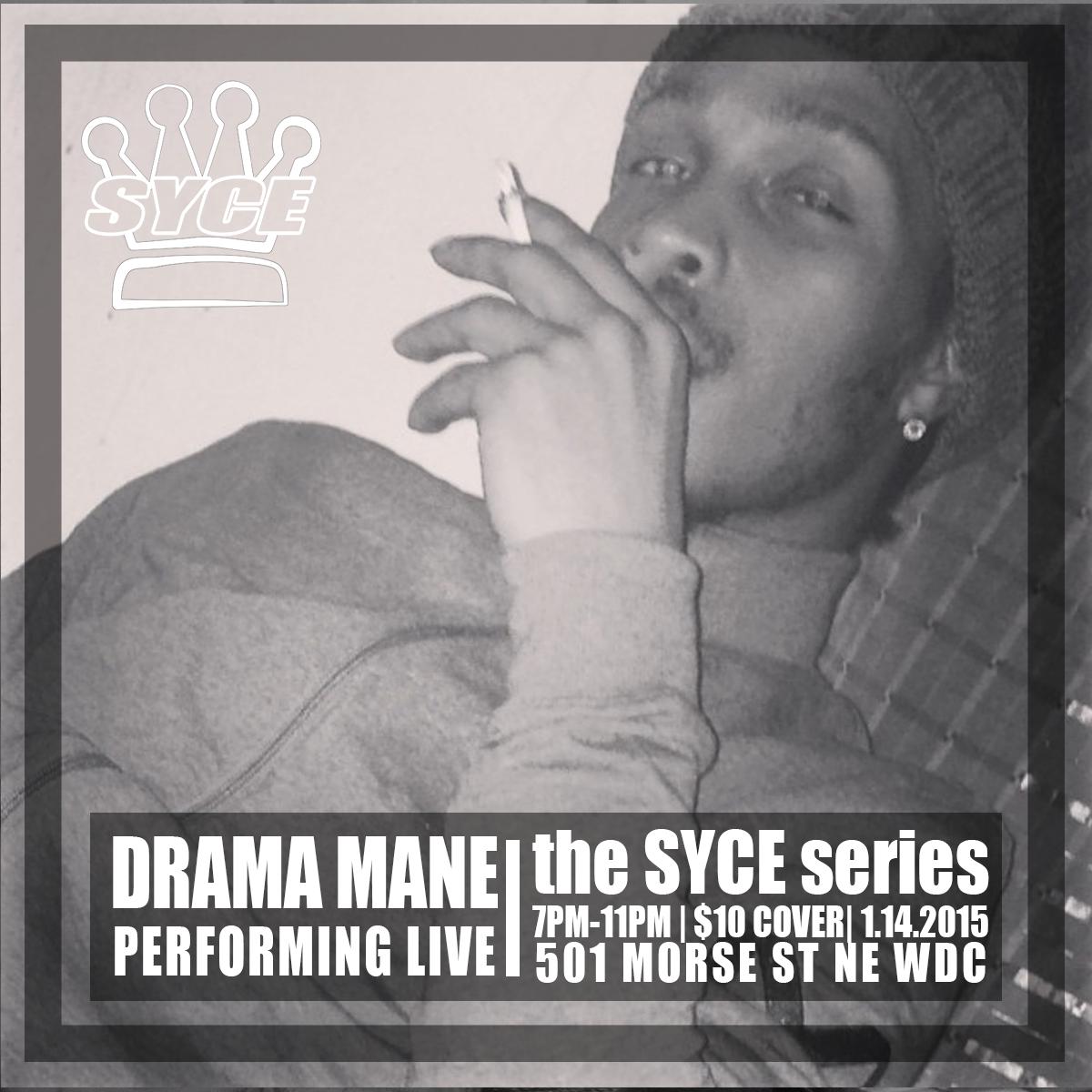 Drama ManeSYCE Artist Flyer.png