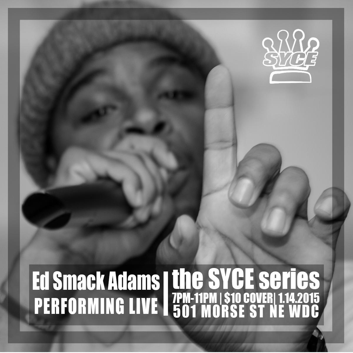 Ed Smack SYCE Artist Flyer.png