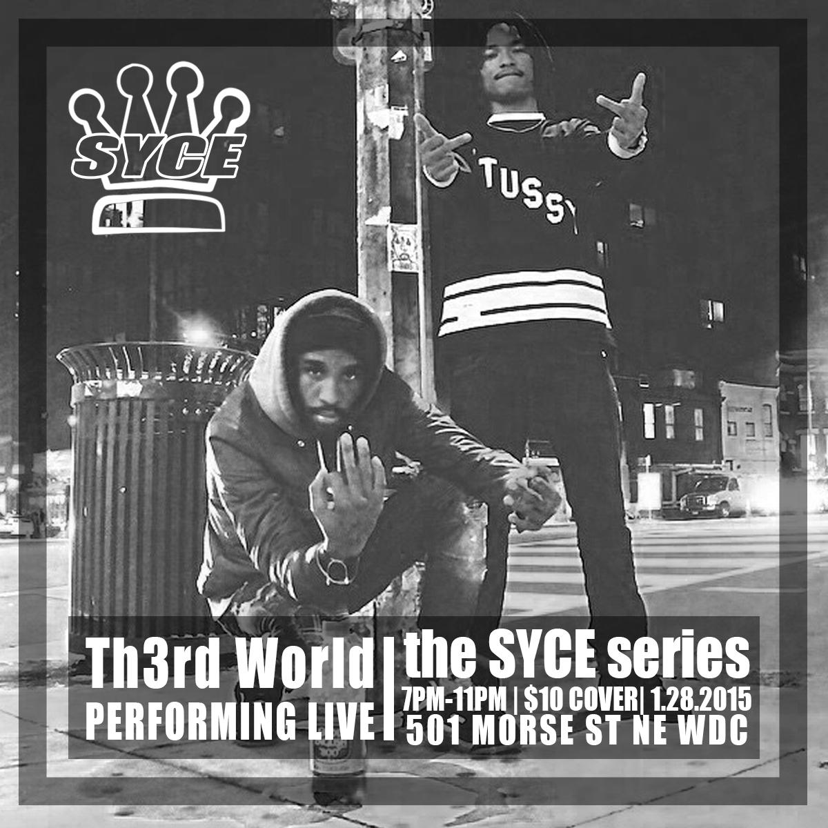 Th3rd World SYCE Artist Flyer.jpg