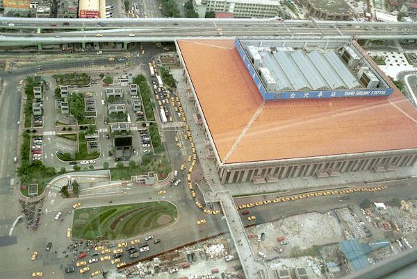 Taipei Railway Station, Taipei, Taiwan, 1998
