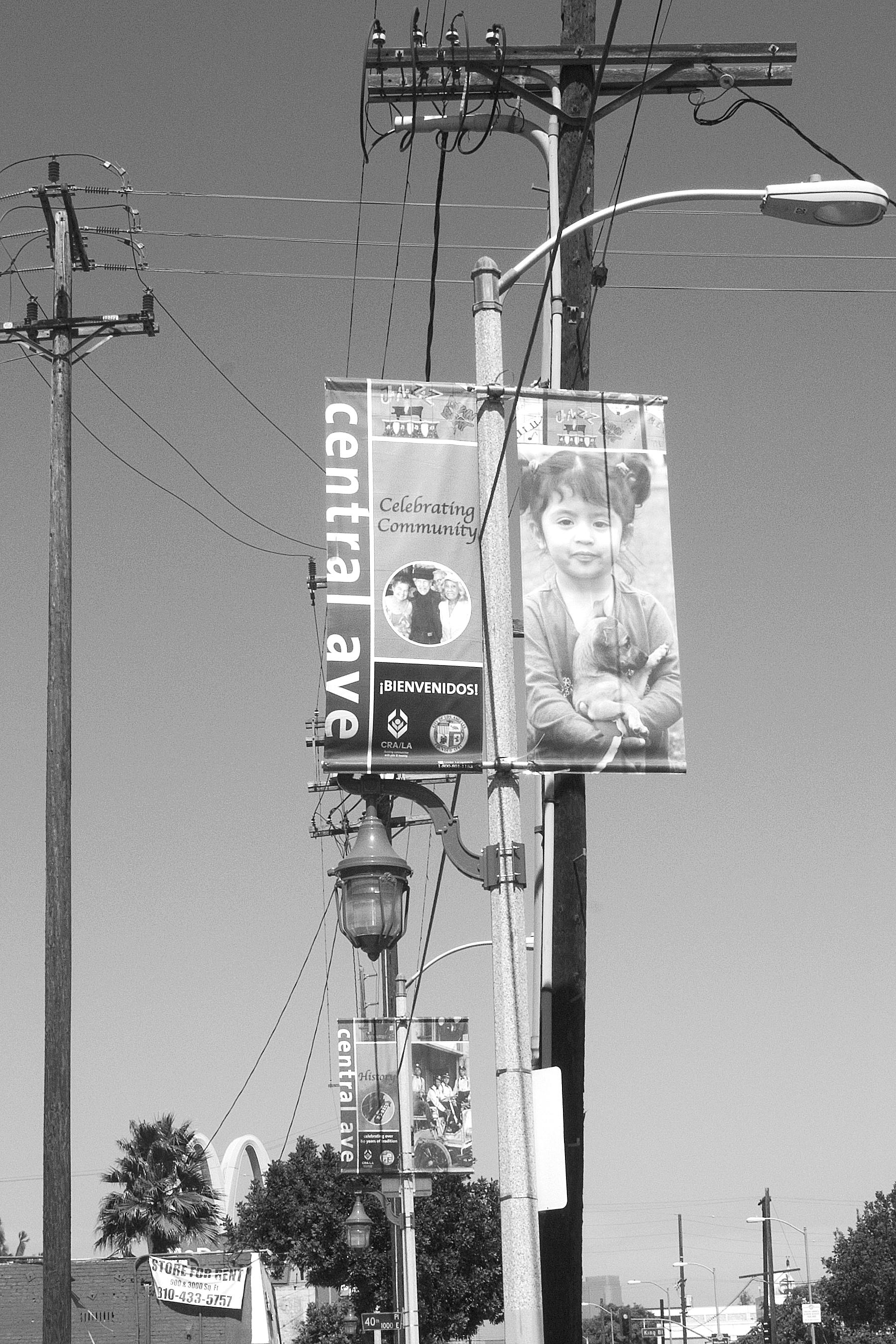 """Celebrating Community"" banner, Central Avenue, South Los Angeles. 2007.                                0     false             18 pt     18 pt     0     0         false     false     false                                                     /* Style Definitions */ table.MsoNormalTable {mso-style-name:""Table Normal""; mso-tstyle-rowband-size:0; mso-tstyle-colband-size:0; mso-style-noshow:yes; mso-style-parent:""""; mso-padding-alt:0in 5.4pt 0in 5.4pt; mso-para-margin:0in; mso-para-margin-bottom:.0001pt; mso-pagination:widow-orphan; font-size:10.0pt; font-family:""Times New Roman"";}"