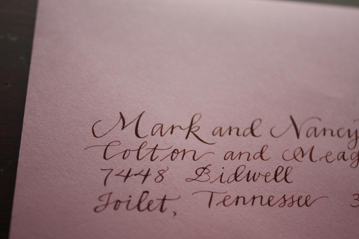 Hawthorne | Bluestocking Calligraphy