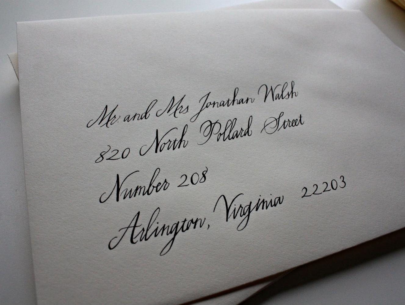 Bluestocking Calligraphy