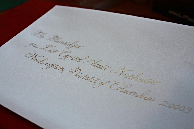 Bluestocking Calligraphy | Hawthorne Style