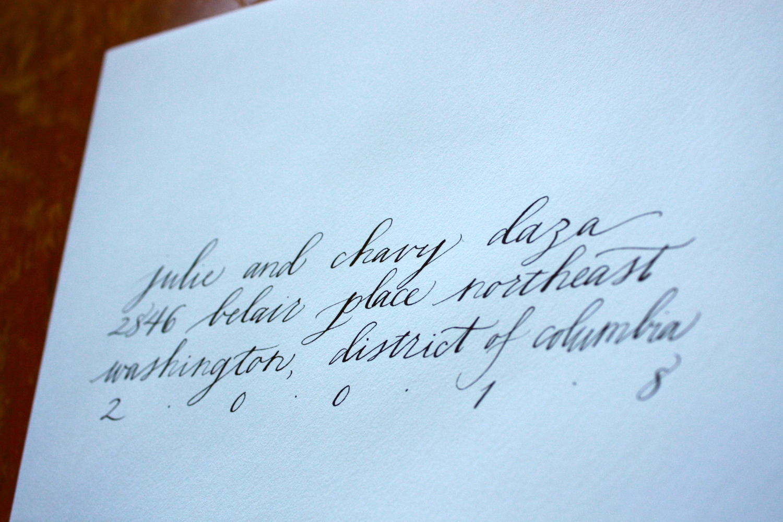 Style: Ada / Bluestocking Calligraphy