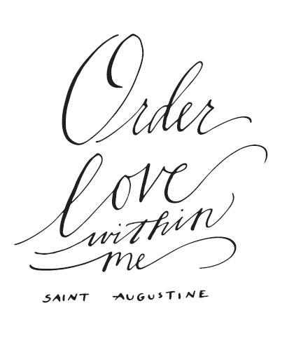 Original art print / Bluestocking Calligraphy