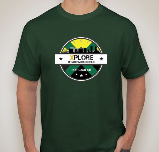 XPLORE Portland Racing Jersey-Front (All Registered Racers and Volunteers Receive Jersey)