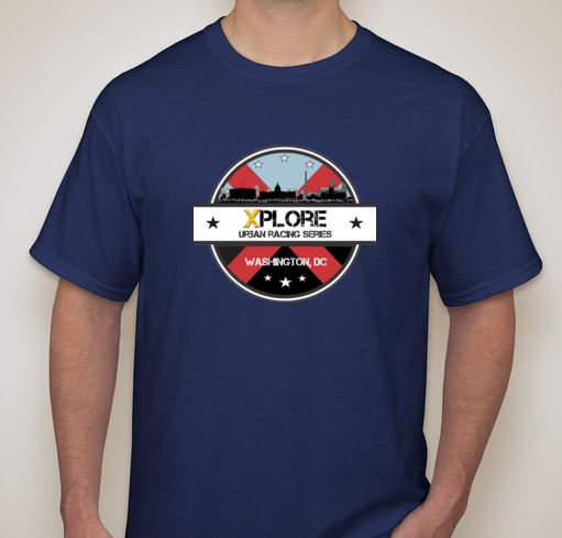 XPLORE DC Racing Jersey-Front (All Registered Racers and Volunteers Receive Jersey)
