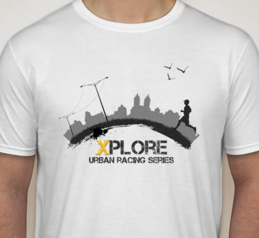 Register for XPLORE Atlanta by August 19th and also get this custom urban racing tee on race day!