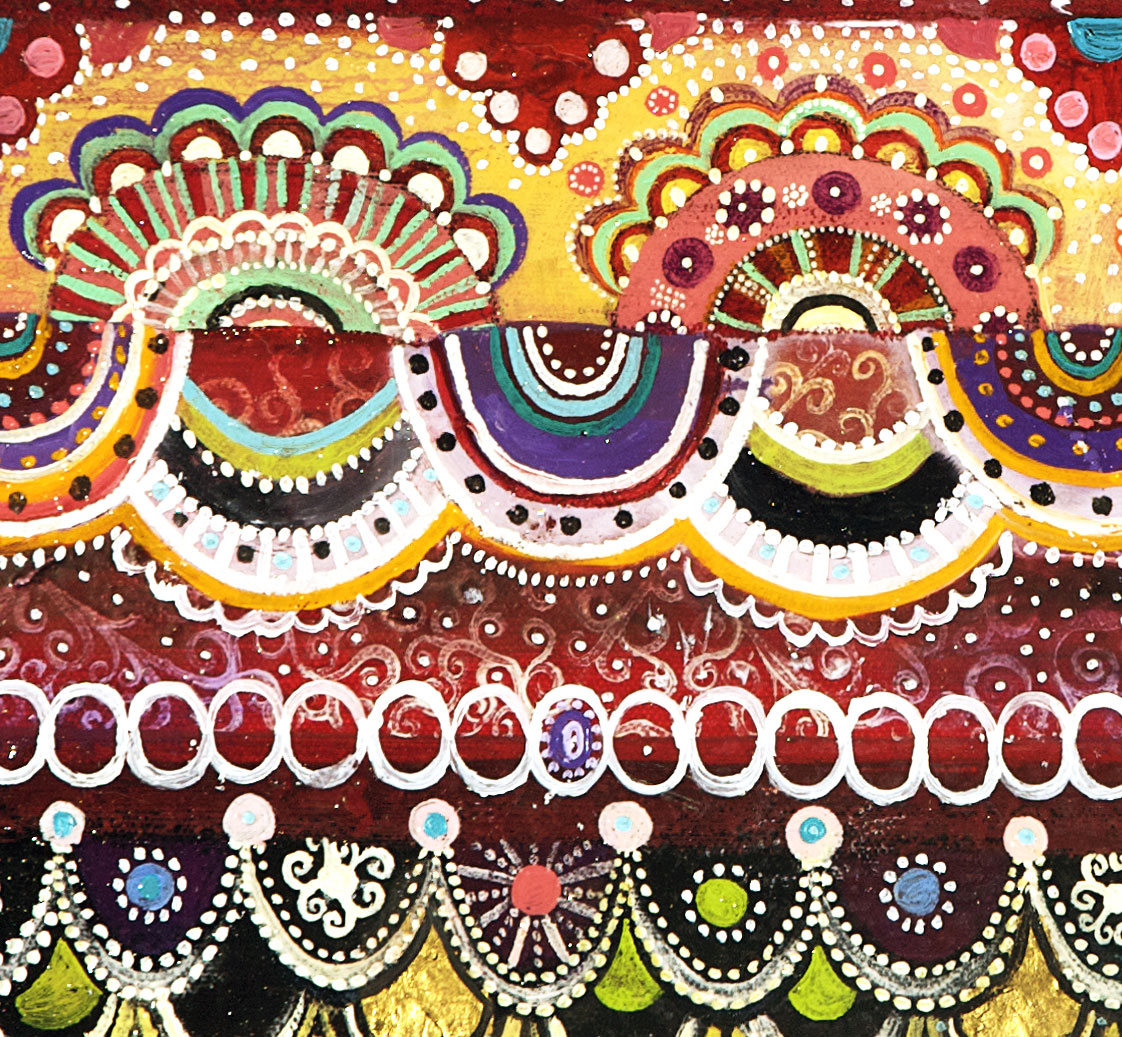 Detail, Horizontal Tapestry (Sweet Talker)