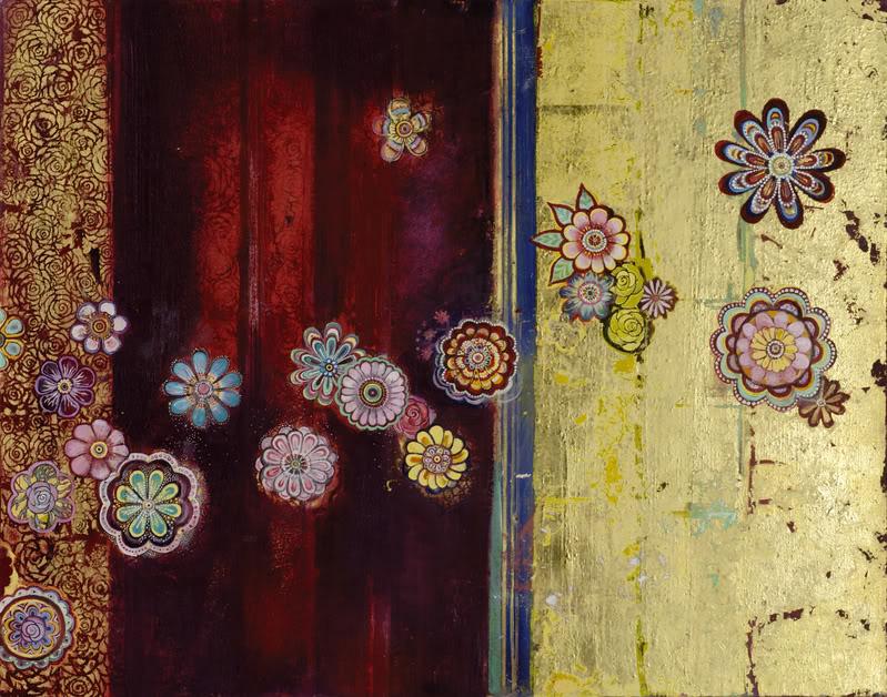 Vertical Tapestry (River of Plenty)- SOLD
