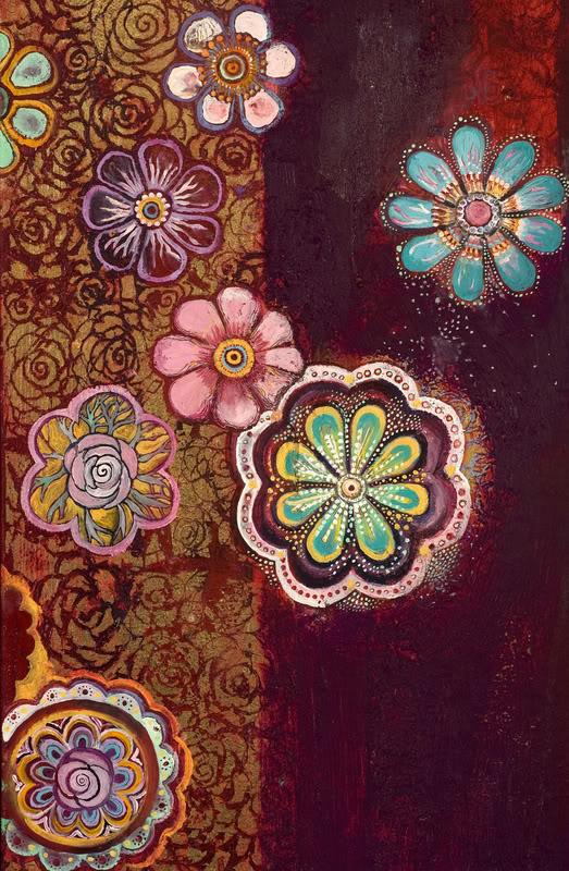 Detail, Vertical Tapestry (River of Plenty)