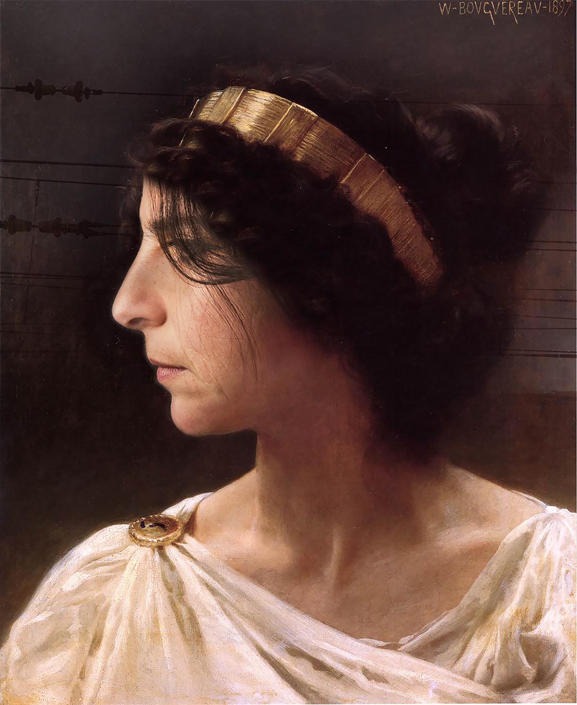 Myself as Iréne (1897-2015) - Original by William-Adolphe Bouguereau