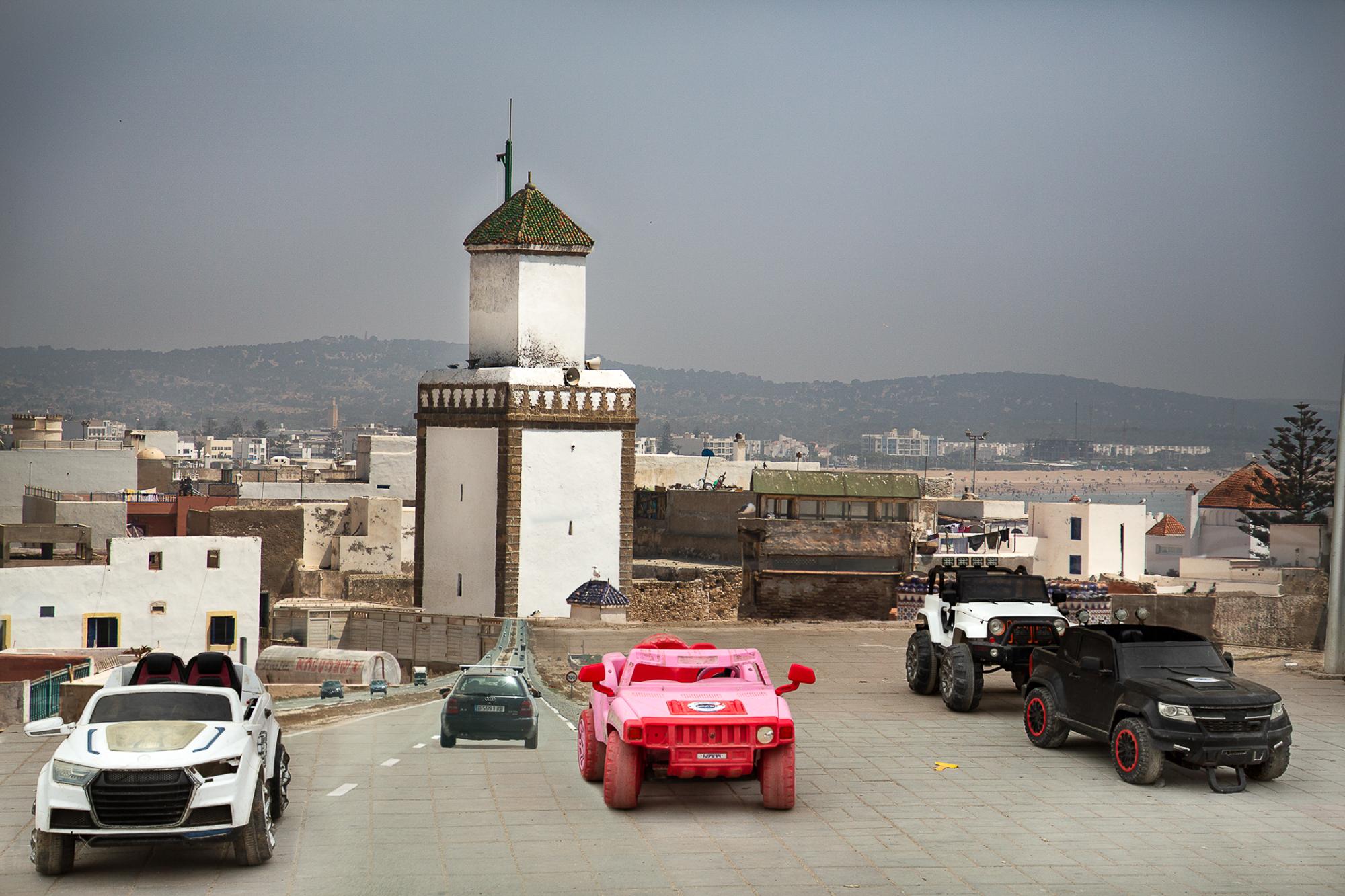 Little Cars, Essaouira, 2018