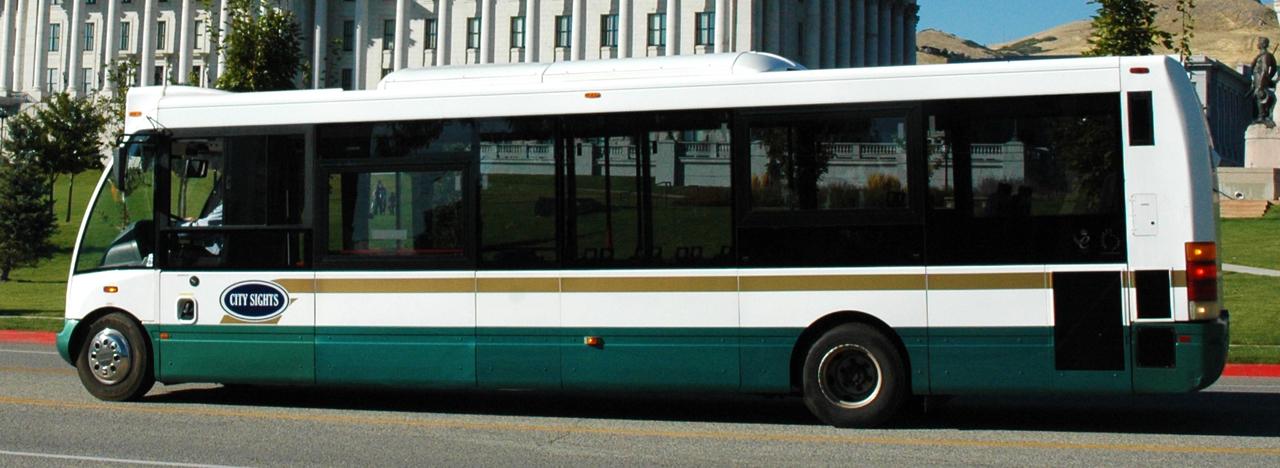 City Sights - Salt Lake City; Utah bus tours, sightseeing bus