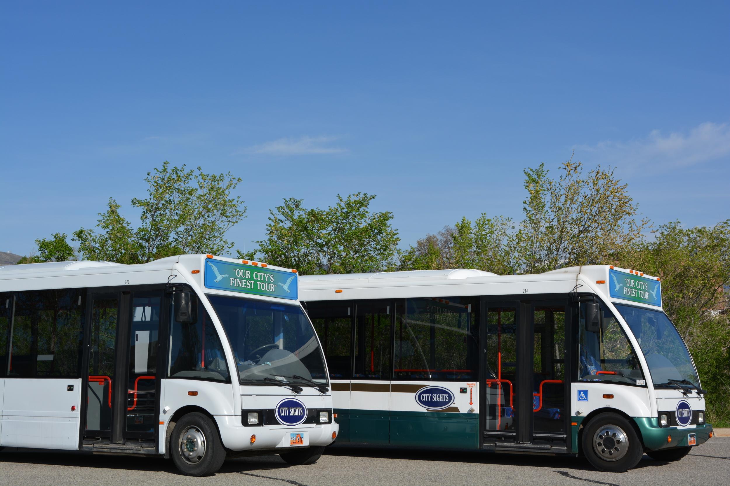 Salt Lake Tour Bus