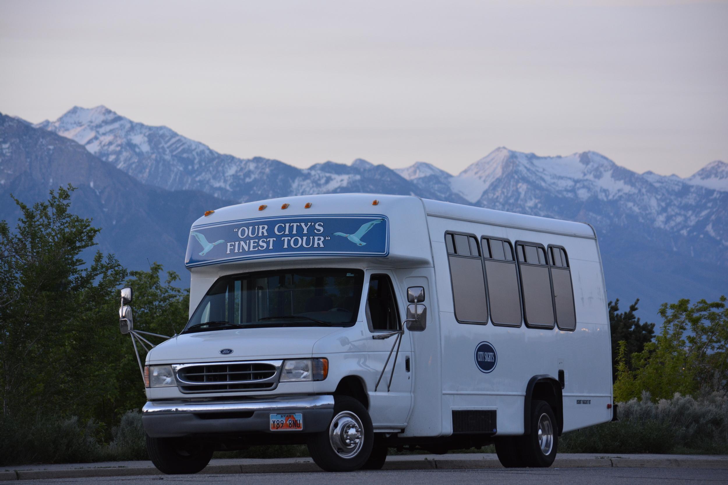 Utah tour bus salt lake city