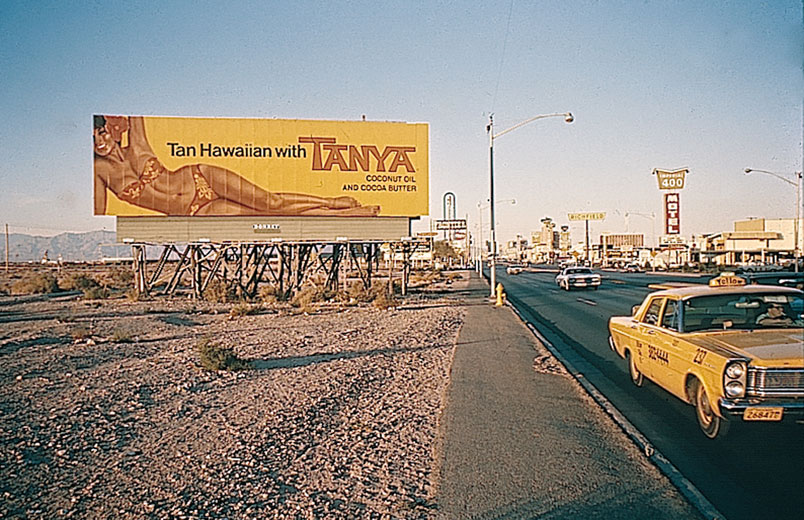 Tanya Billboard, from  Learning From Las Vegas.